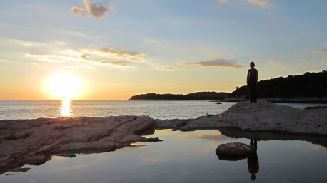 Sunset Pula Croatia